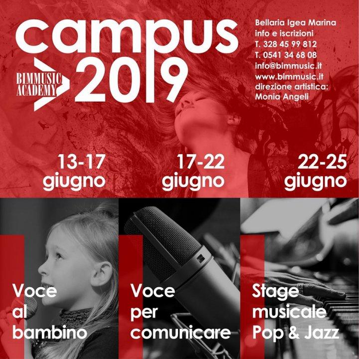 CAMPUS BIM MUSIC ACADEMY 2019