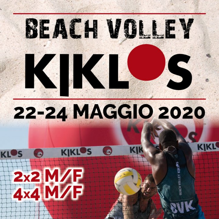 27° BEACH VOLLEY KIKLOS MAGGIO