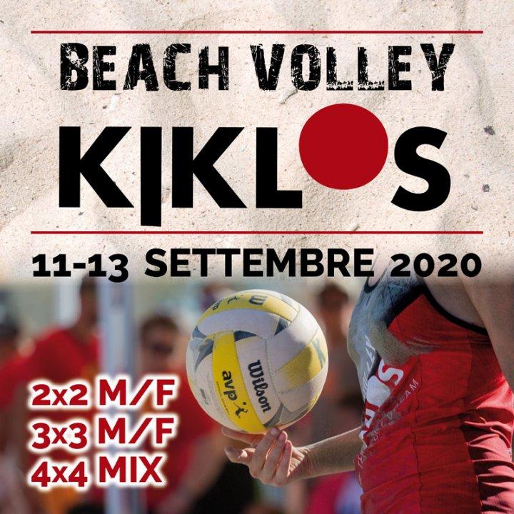 10° BEACH VOLLEY KIKLOS SETTEMBRE