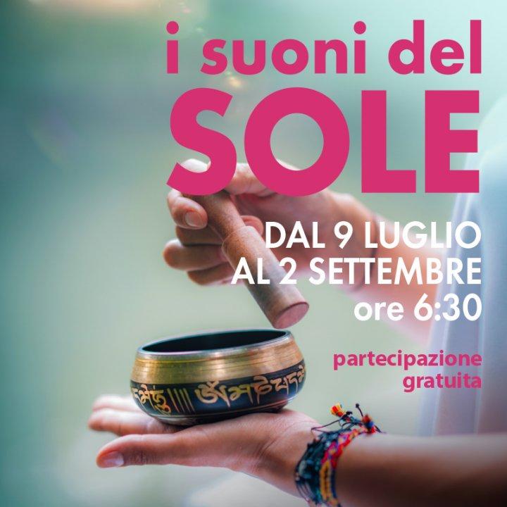 I SUONI DEL SOLE | BAGNO DI GONG