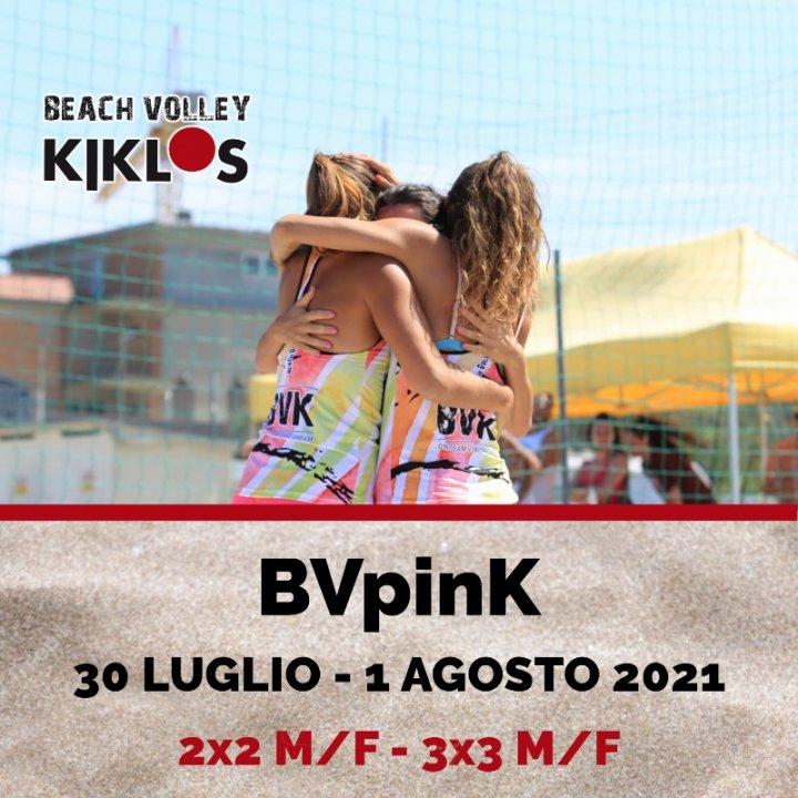 1° BVPINK 2021  BEACH VOLLEY PINK
