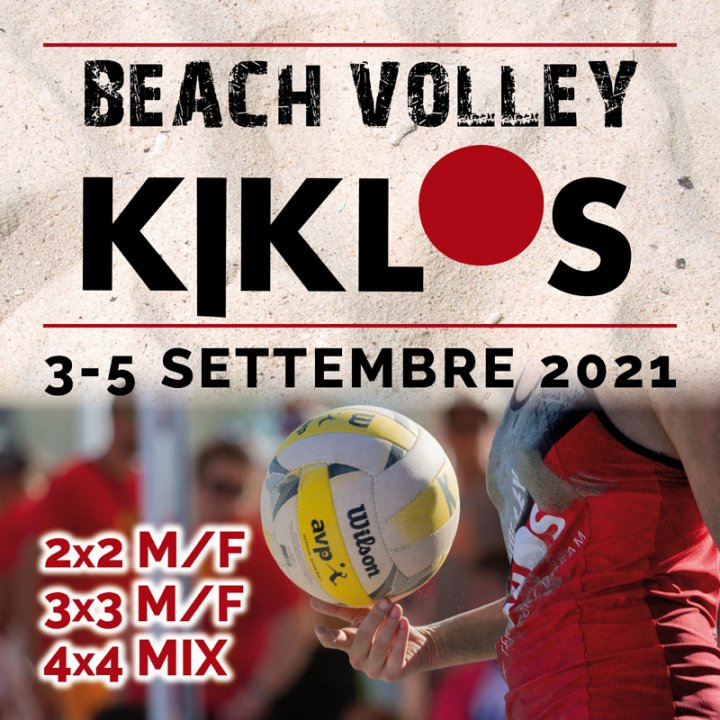 BEACH VOLLEY KIKLOS SETTEMBRE